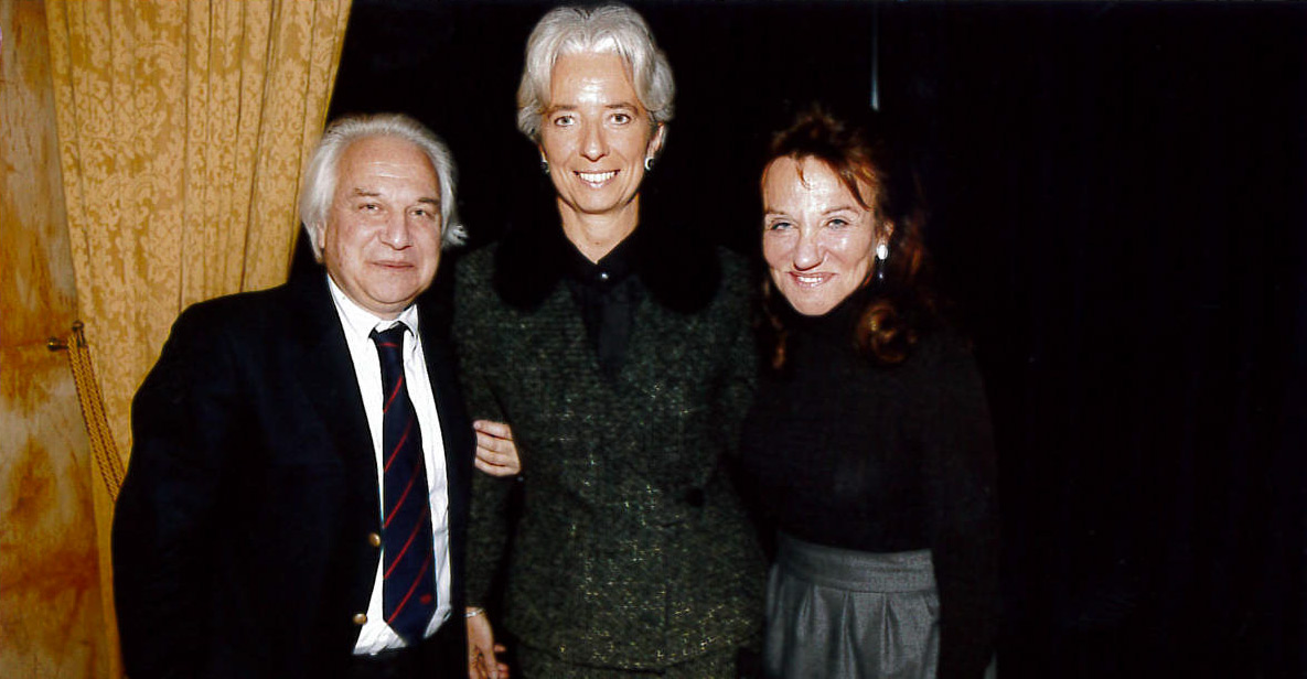 Catherine-et-PatrickWajsman-ChristineLagarde